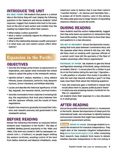 the age of imperialism guided reading Guided activity industrialization and nationalismpdf free download here the industrial revolution spreads: guided reading.